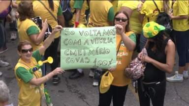 Educadores decidem manter greve em Curitiba - Já é o terceiro dia de greve