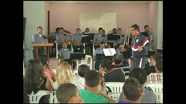 PM retoma projeto musical em Santarém - A ação leva curso de música a crianças e adolescentes em áreas carentes da cidade.