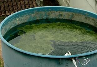 Moradores de comunidade em São Domingos do Norte, ES, reclamam de qualidade da água - População da comunidade do córrego Dumer reclama das más condições da caixa d'água que abastece a região.