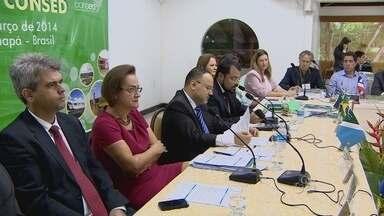 Ministro da Educação participa de reunião em Macapá - O Conselho Nacional dos Secretários de Educação, o Consed, promoveu uma reunião aqui no Amapá. O ministro da Educação José Henrique Paim participou do evento