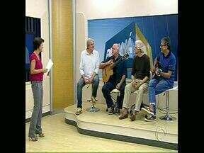 Boca Livre faz show em Londrina - No estúdio do Paraná TV os músicos falaram da trajetória do quarteto, de amizade e de boa música.