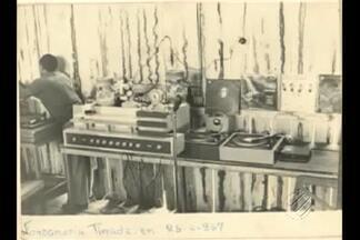 Evolução das aparelhagens inspira pesquisadores - DJ Junior Almeida pesquisa origem dos equipamentos e planeja criar uma réplica da primeira aparelhagem.