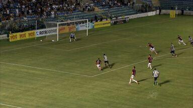 Com gol de Tadeu, Ceará insiste e vence Guarany de Sobral - Com três pontos, a equipe de Porangabuçu chega aos mesmos 12 pontos do Cacique do Vale, mas segue na terceira posição devido ao saldo de gols