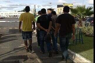 PM impede realização de rolezinho em shopping de Aparecida de Goiânia - Ação foi realizada em conjunto com o Conselho Tutelar.