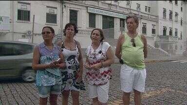 Pacientes reclamam que Santa Casa de Santos ficou sem luz - Falta de energia começou bem cedo