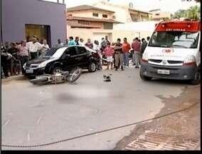 Samu de Teófilo Otoni registra pelo menos um acidente por dia envolvendo motocicletas - Motociclistas sofrem com sequelas de acidentes.