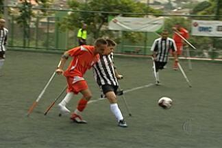 Equipes do futebol de amputados de Mogi das Cruzes abrem ano com Campeonato Paulista - Mogi das Cruzes foi representada no estadual por dois times: Instituto Só Vida e Smel Mogi.