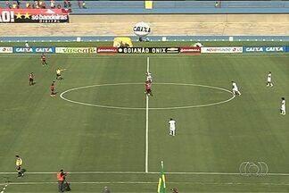 Atlético-GO e Anapolina empatam no Serra: 1 a 1 - Resultado é bom para a Xata, que consegue buscar igualdade ainda no primeiro tempo e precisa de mais um empate para avançar à final do Campeonato Goiano.