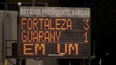 Fortaleza vence Guarany de Sobral de virada e se classifica - Resultado manteve ainda invencibilidade em 2014.