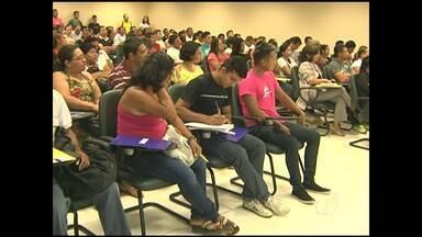 Professores do EJA reúnem em Santarém - O encontro serviu para a discussão de propostas para a educação de jovens e adultos em 2014.