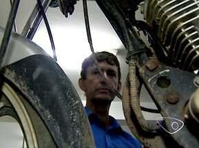 Especialista do Noroeste do ES fala sobre importância da revisão mecânica em motos - Problemas mecânicos podem causar acidentes.