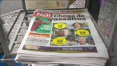 Novo jornal Notícia Agora chega às bancas do ES - Leitores aprovaram nova versão do impresso.