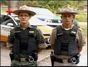 Polícia de Meio Ambiente trabalha com novo uniforme em Minas Gerais - Farda ajuda diferenciar o pelotão dos demais policiais.