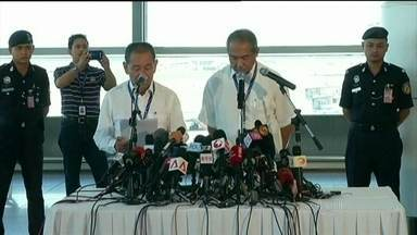 Condições climáticas no Oceano Índico provocam cancelamento de buscas de boeing - O mau tempo provou o cancelamento das buscas aos destroços do boeing da Malaysia Airlines no sul do Oceano Índico. O problema prolonga a dor de quem perdeu um parente ou um amigo.