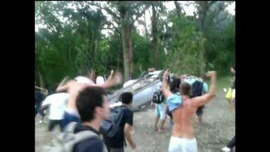 Estudantes invadem reitoria da Universidade Federal de Santa Catarina - A confusão começou no meio da tarde da última terça-feira (26), após policiais federais abordarem estudantes com maconha dentro do campus.