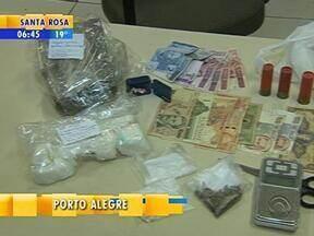 Homem é preso com diversos tipos de drogas em Porto Alegre - Prisão aconteceu durante uma operação da Brigada Militar na Zona Sul da cidade.