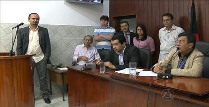 Reginaldo Pereira é afastado novamente da prefeitura de Santa Rita - Parlamentares votaram por afastamento do prefeito por 90 dias após novas denúncias.