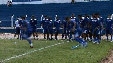 Técnico do CSA lança reforços para o jogo contra o Comercial - O jogo acontece hoje no Rei Pelé.