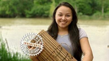 Estudante do Pará cria projeto que captura apenas camarões grandes - Regiane Alves ganhou nota máxima dos jurados no quarto episódio do Jovens Inventores