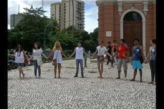 Em Belém, movimentos sociais fazem mobilização para lembrar os 50 anos do golpe militar - Em Belém, movimentos sociais fazem mobilização para lembrar os 50 anos do golpe militar
