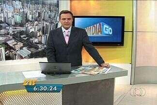 Confira os destaques do Bom Dia Goiás - Funcionário da prefeitura de Senador Canedo é preso ao tentar matar uma prostituta em um motel.