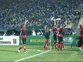 Ituano surpreende, vence o Palmeiras e chega à final do Paulistão - Outro time da região que se deu bem foi o Ituano. O Galo de Itu foi até o Pacaembu enfrentar o Palmeiras e ganhou bonito do Verdão.