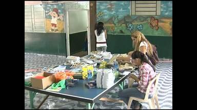 Pastoral do Menor arrecada 500 kits de material escolar - Campanha tinha intenção de arrecadar 350 kits.