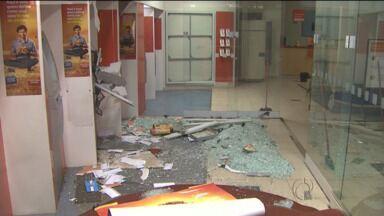 Caixa eletrônico sofre segundo ataque em 15 dias - Agência do Itaú em Cambé, na PR-445, é atacada pela segunda vez em duas semanas.