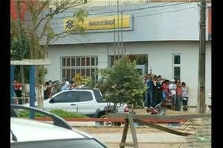Investigadores e delegado seguem de Belém a Uruará para apurar assalto a Banco do Brasil - Equipe está com imagens do circuito interno de segurança do banco e começou a ouvir depoimentos.