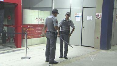 Bandidos arrombam caixas eletrônicos dentro da Prefeitura de Guarujá - Polícia suspeita que quadrilha seja especializada nesse tipo de crime