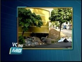 VC no MG: Telespectador de Ipatinga flagra desrespeito da população ao código de postura - Telespectador fotografou entulho acumulado no bairro Panaroma.