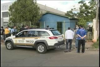 Duas pessoas são encontradas mortas em Santa Maria, RS - Os corpos foram encontrados dentro de uma casa no bairro Jockey Clube.
