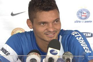Bahia tem jogadores importantes lutando para vencer contusões - Rhayner, Guilherme e Talisca fazem tratamentos após lesões.