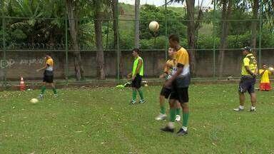 Mesmo com dificuldades no Campeonato Mineiro Júnior, Uberabinha visa vaga na fase final - Garotos destaques do elenco contam histórias que viveram durante a competição