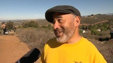 Steve Caballero elogia iniciativa de Bob Burnquist: 'Evento eleva skate a outro nível' - Aos 49 anos, skatista está feliz de participar do Mega Rampa na casa do brasileiro na CalifórnIa.