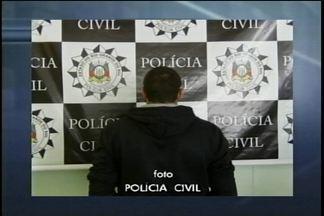 Polícia Civil prende homem suspeito de ter estuprado duas mulheres - Homem também é suspeito de ter cometido assaltos
