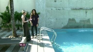 Conheça a piscina da casa de Ana Carolina - O local foi usado para gravar o clipe da música 'Um Sueño Bajo el Agua'
