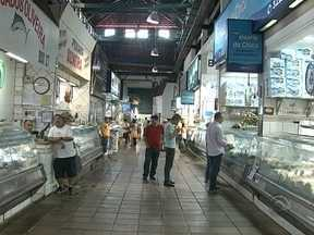 Comerciantes do Mercado de Florianópolis se preparam para mudança de endereço - Comerciantes do Mercado de Florianópolis se preparam para mudança de endereço