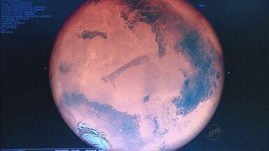 Planeta Marte entra em período de maior visibilidade - Fenômeno acontece apenas de dois em dois anos.
