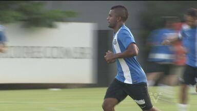 Santos se prepara para jogo contra o Ituano - David Braz fala sobre os treinos do Peixe