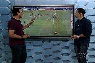 No detalhe: Kleber Guerra analisa pontos de Goiás e Atlético-GO - Comentarista da TV Anhanguera destaca lances na primeira final do Campeonato Goiano. Defesa milagrosa de Renan e esperteza de Artur são destaques.