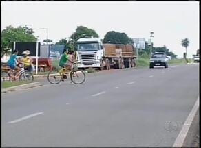 Motoristas cobram mais segurança no trecho urbano da BR-153 em Gurupi - Motoristas cobram mais segurança no trecho urbano da BR-153 em Gurupi