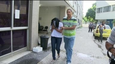 Polícia prende suspeita de envolvimento no assassinato de grávida em São Gonçalo - A polícia prendeu uma suspeita de envolvimento no assassinato de uma grávida em São Gonçalo. Flavia da Silva Ramos era amante do marido da vítima e teve a prisão temporária decretada.