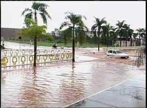 Veja como ficou o centro de Gurupi depois de forte chuva na tarde desta quarta-feira (9) - Veja como ficou o centro de Gurupi depois de forte chuva na tarde desta quarta-feira (9)