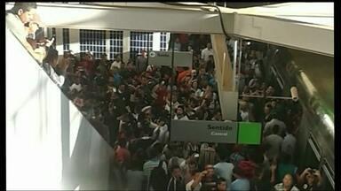 Sindicato dos Metroviários suspende greve por 48 horas - Numa reunião de conciliação na Justiça do Trabalho, o Sindicato dos Metroviários decidiu voltar ao trabalho.