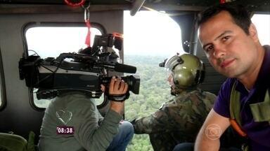 Repórter acompanha buscas ao avião desaparecido nas florestas do Pará - Passageira mandou mensagem para o tio quando o motor parou