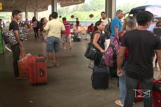 Após Semana Santa, volta para casa tem sido tranquila - Tranquilidade foi registrada tanto no terminal rodoviário, quanto na BR-135.