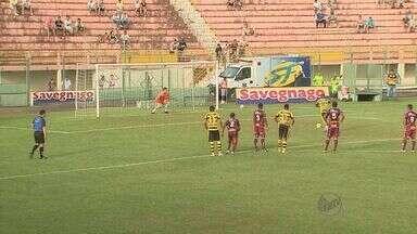 Sertãozinho começa mal no quadrangular decisivo da Série A-3 do Paulista - Mesmo jogando em casa, o Touro foi goleado pelo novorizontino.