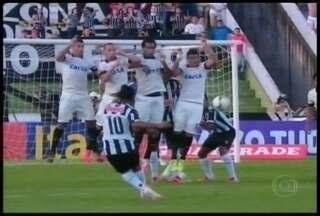 Esporte: Atlético estreia Brasileirão empatando com Corinthians - Partida foi marcada por muitas chances de gols perdidas.