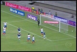 Esporte: Cruzeiro estreia Brasileirão com vitória em cima do Bahia - Partida terminou em 2x1.